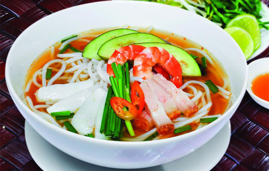 Enjoy special vermicelli in cool days