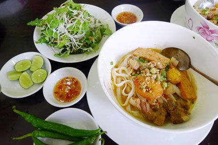 A true taste of Quang noodle