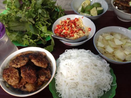 Bun Cha, the food Obama used in the afternoon of 23 May 2016