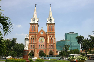 Saigon Notre-Dame Cathedral, Ho Chi Minh city