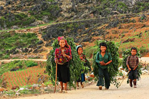Local people in Meo Vac, Ha Giang