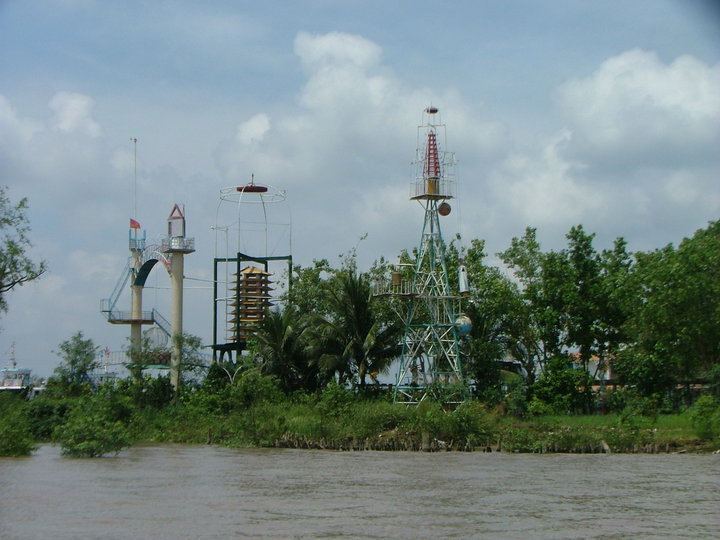 Phung Islet Ben Tre view