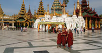 Yangon city tour - The capital of Myanmar Stopover