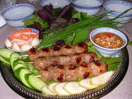 Ninh Hoa Grilled Meatball