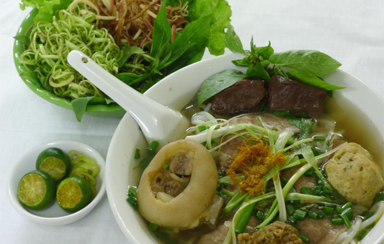 Hue's vermicelli and beef