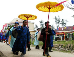 Traditional Tel Celebrations In Ancient Hoi An
