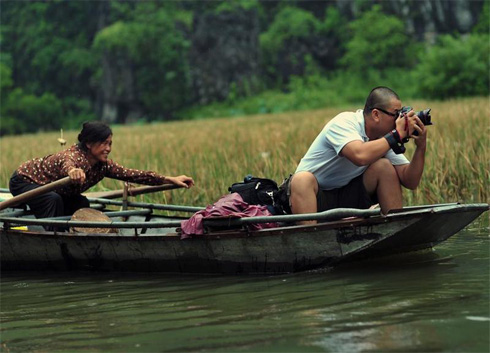 """ Hunt "" Ducks In Ninh Binh"