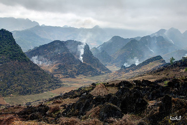 Ha Giang is a mountainous province in Northeastern Vietnam