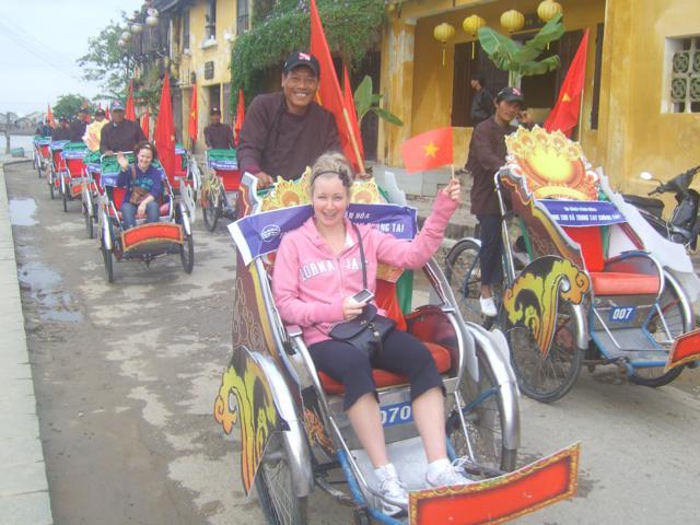 Enjoying Tet holiday in Hoi An