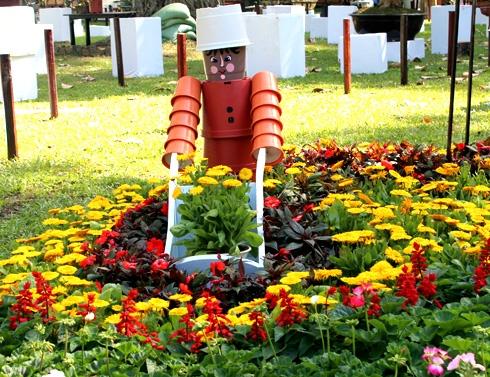 Flower festival in vietnam