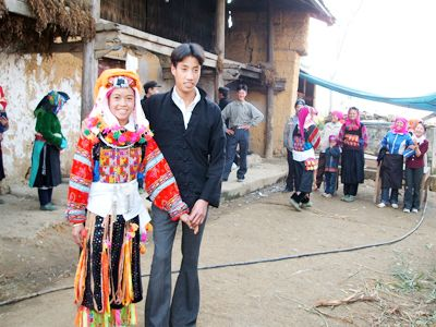Lolo Marriage Vietnam Tours in Hagiang