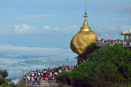 Kyaiktiyo, the 'Golden Rock',