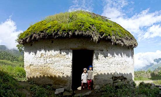 Giant Mushroom Houses in Lao Cai Province