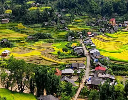 Ta Phin Village, Sapa, Vietnam