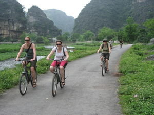 Biking to Hoa Lu-Tam Coc and Cuc Phuong National Park