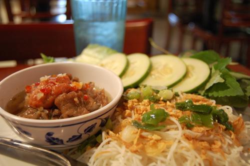 Bun Cha, Vietnamese famous dish