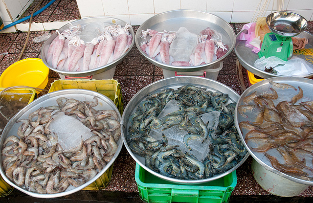 Sea Food in Ben Thanh Market