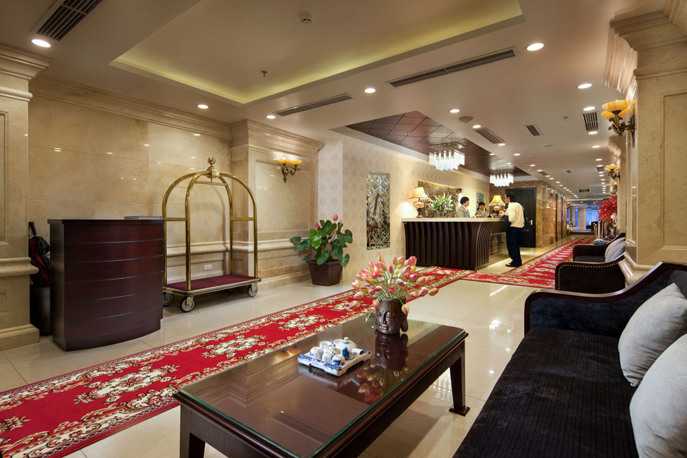 Boss Legend hotel Reception