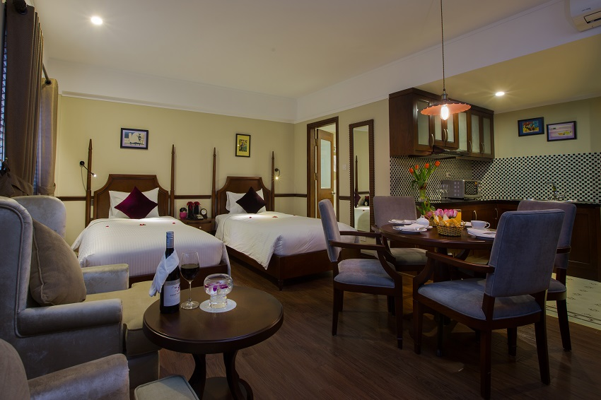 Hanoi La Siesta Hotel & Spa Club Duplex Premior room