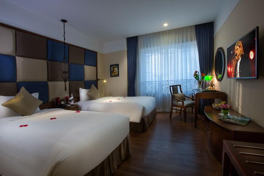 Hanoi La Siesta Hotel & Spa Deluxe Twin room