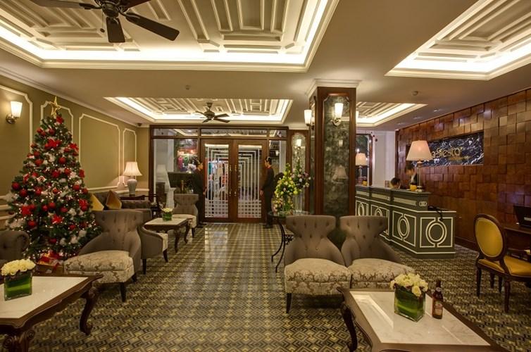 Hanoi La Siesta Hotel & Spa Reception