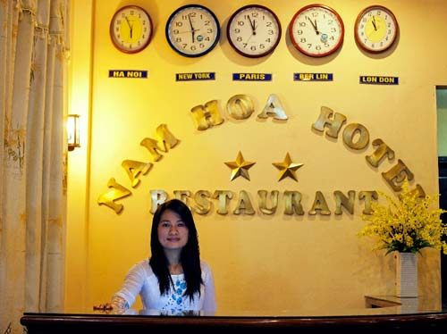 Nam Hoa Hotel Reception