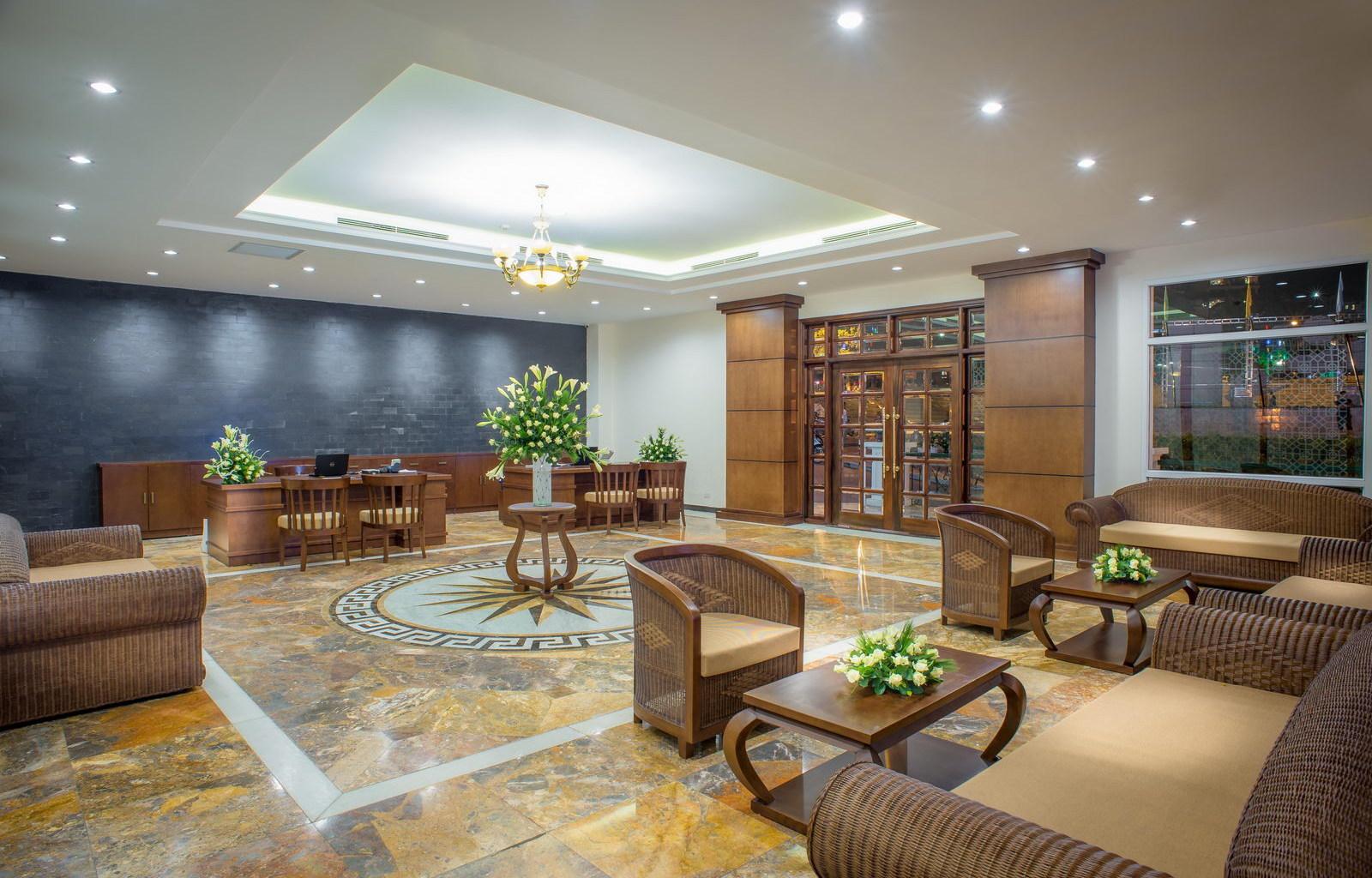 U Sapa Hotel Lobby