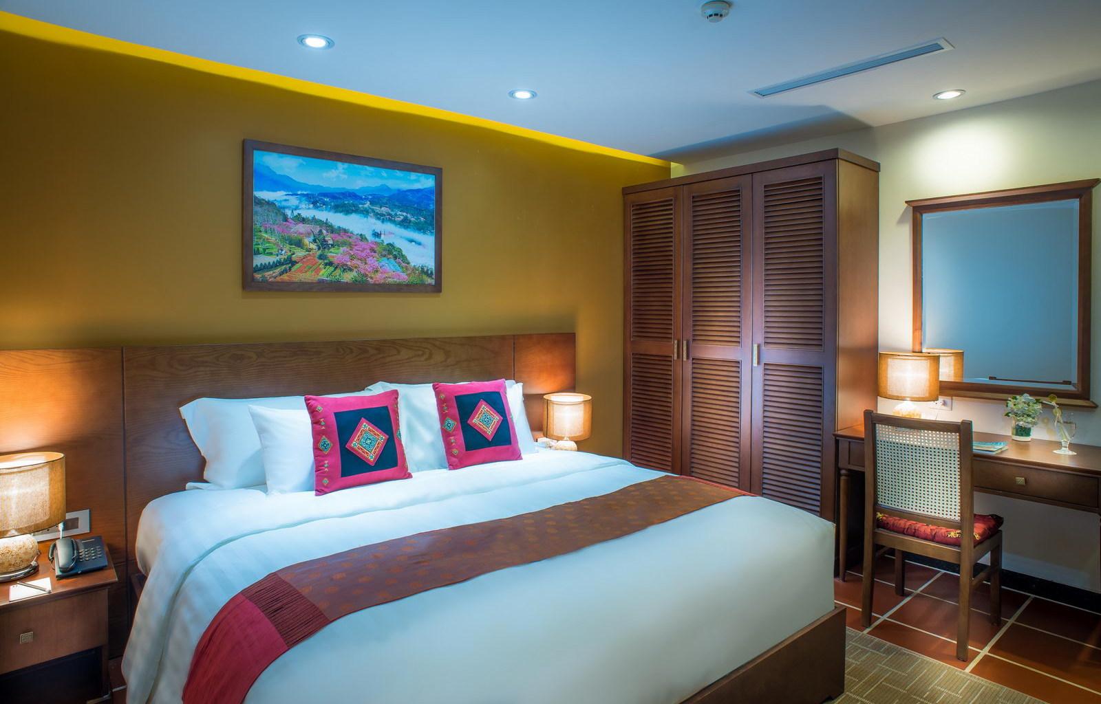 U Sapa Hotel Suite room