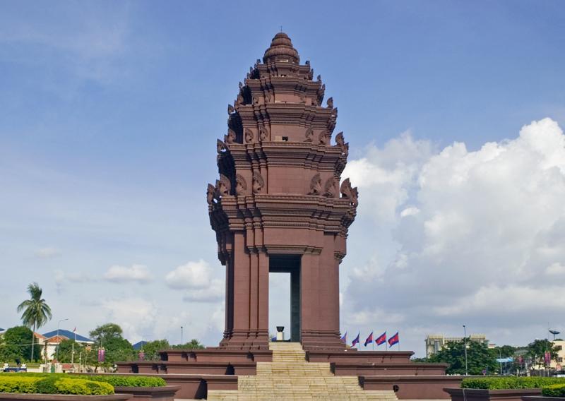 Independance Monument, Phnom Penh