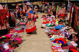 Local market at Ta Phin, Sapa