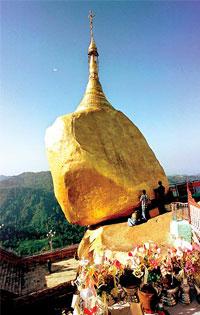 Kyaiktiyo travel guides, Kyaiktiyo tours in Myanmar