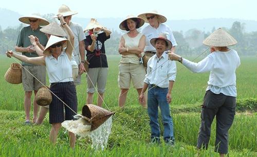 International travelers in Vietnam