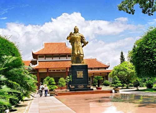 Quang Trung museum in Binh Dinh