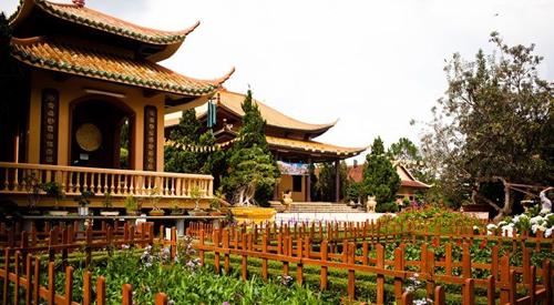 Truc Lam monastery in Dalat