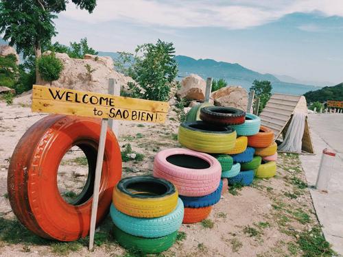 Khu cắm trại Sao Biển