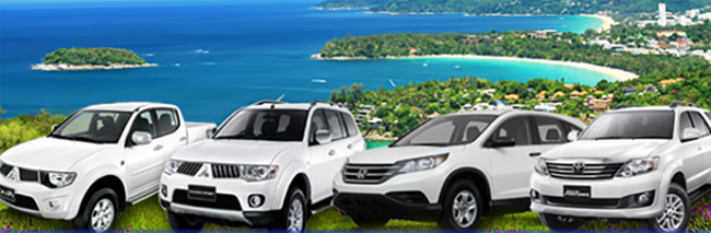 Thailand car rental with driver