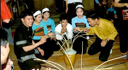 Wine in Mai Chau