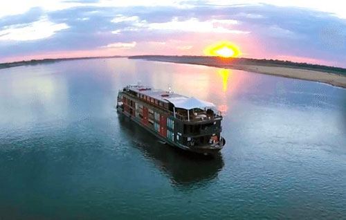 Aqua Mekong Cruise 8 days 7 nights