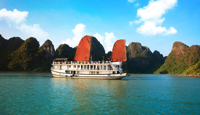 Apricot Cruise Halong Tour - Elegant 2 days 1 night Halong