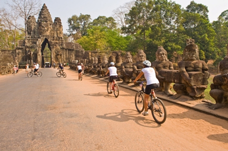 Siem Reap Cycling Tour 5 Days
