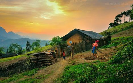 Trekking Bac Ha – Ha Giang, Visit Khau Lan – Lang Tan Hill tribe villages