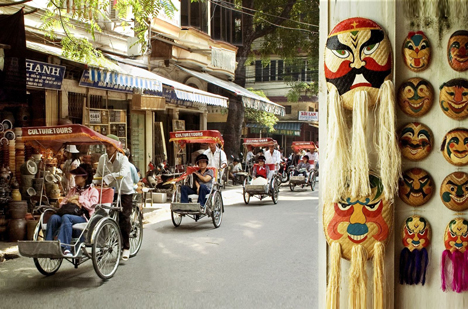Hanoi - Cyclo Old Quarter