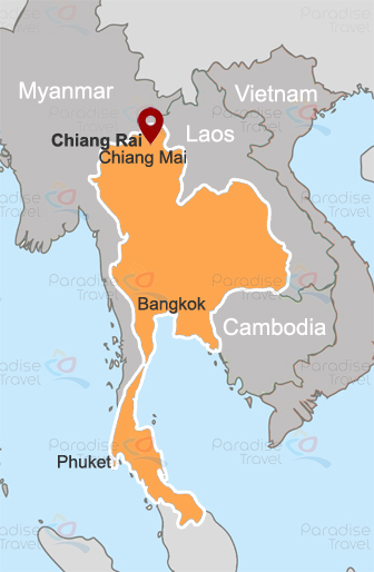 Chiang Rai location map