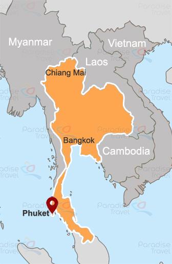 Phuket location map