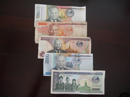 Laos Currency - Laos Travel Guide