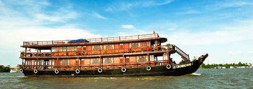 Funan Cruises – 3 days 2 night – Mekong in closeup