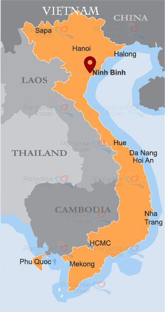 Ninh Binh Location Map
