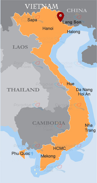 Lang Son Location Map