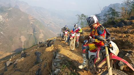 Motorcycle trip to Ha Giang
