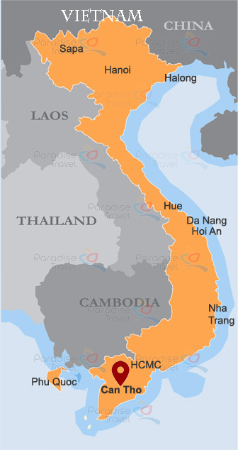 Can Tho Map